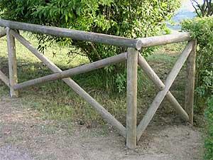 Ringhiere for Staccionata in legno brico